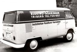 VW Bulli von FTGs Firmengründer