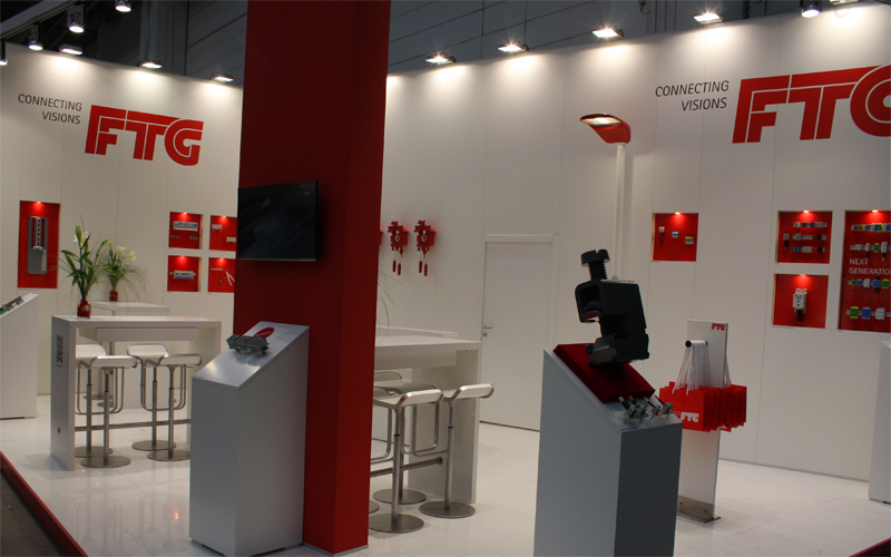 FTG Messestand Light+Building