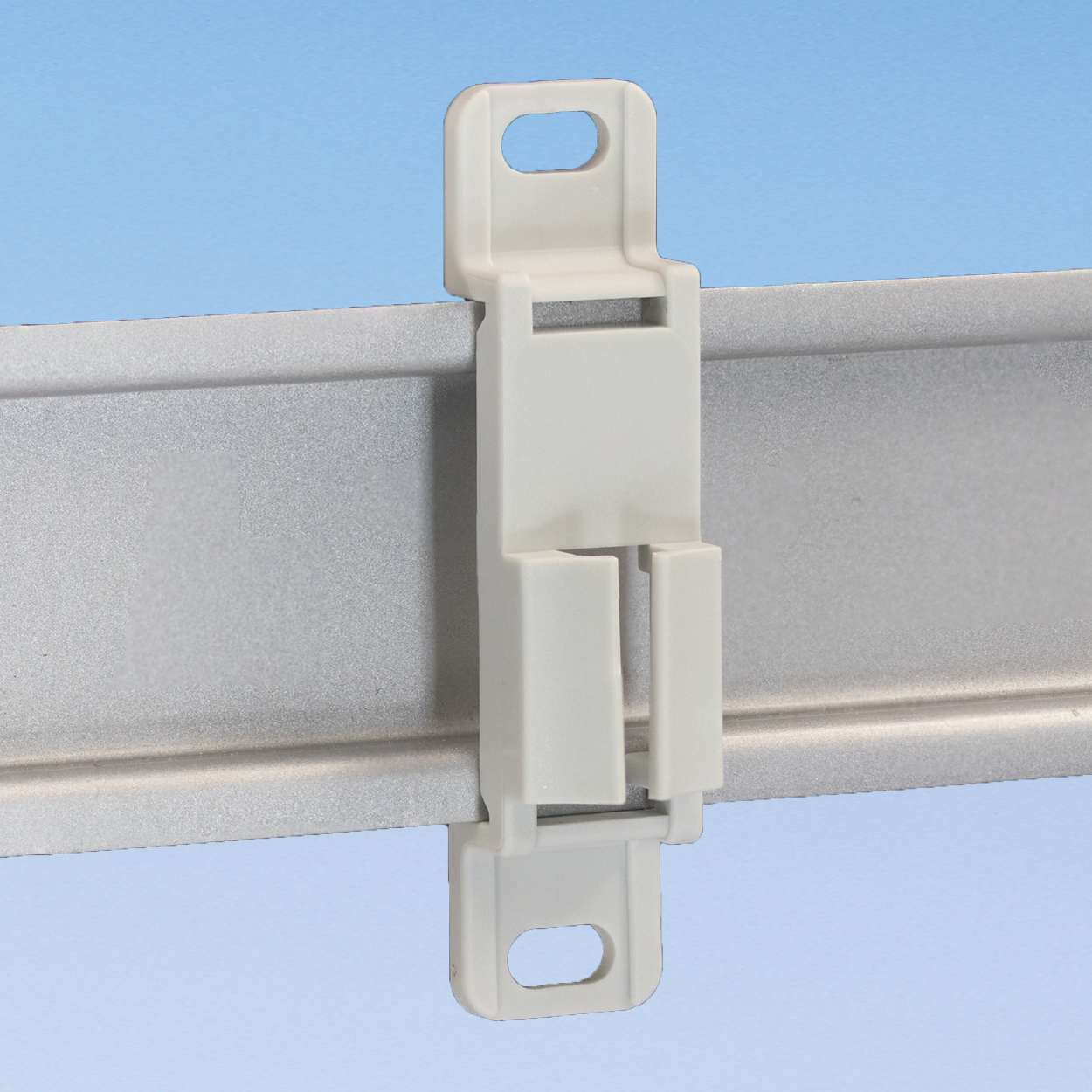 Connection Terminal holder for DIN rails