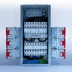 Industrie Stromverteiler