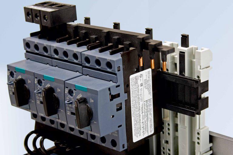 Motorschutzschalter Adapterplatten